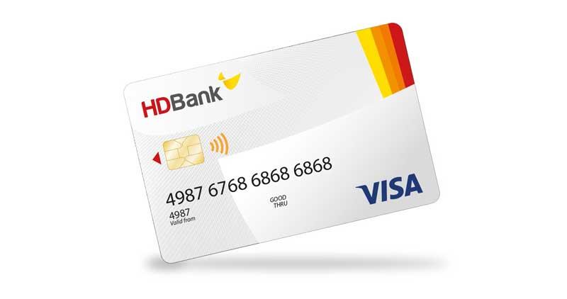cà thẻ tín dụng hdbank