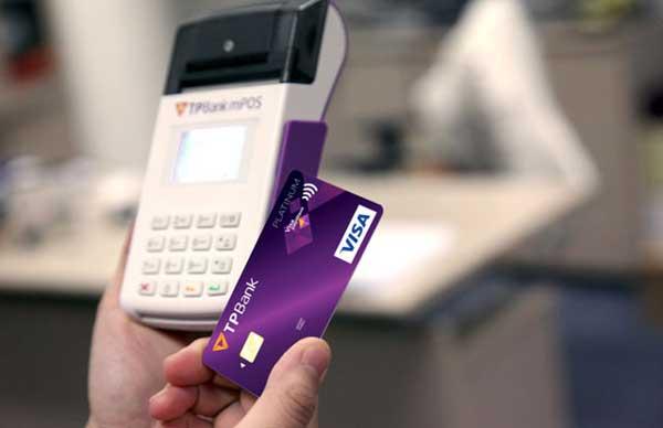 quẹt thẻ tín dụng TP Bank