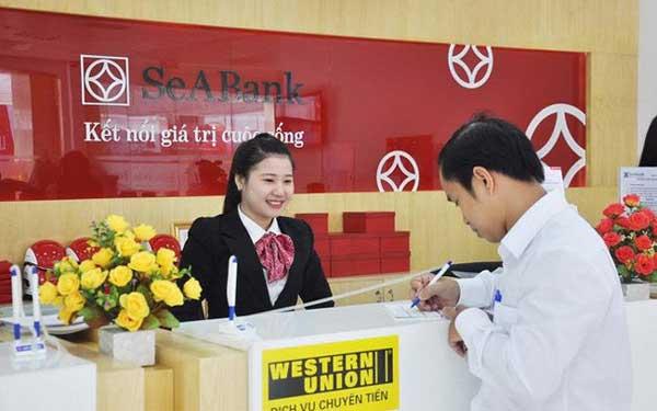 rút tiền thẻ tín dụng seabank